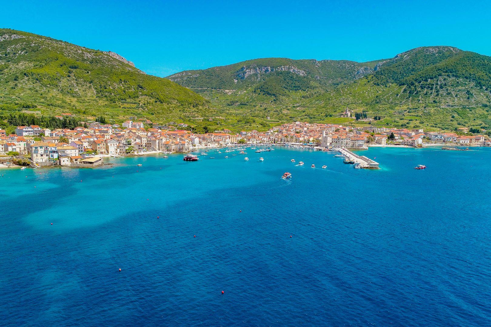 Komiza Blue Cave Tour Croatia