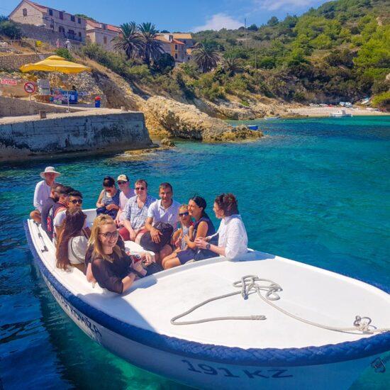 Boat Blue Cave Tour Croatia Bisevo