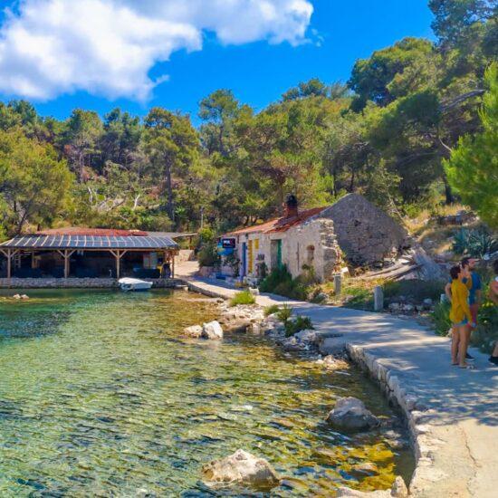 Palmizana Bay Blue Cave Tour Croatia