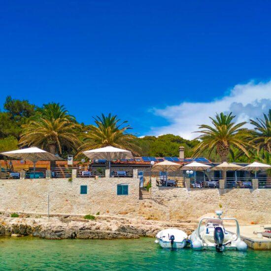 Palmizana Beach Blue Cave Tour Croatia